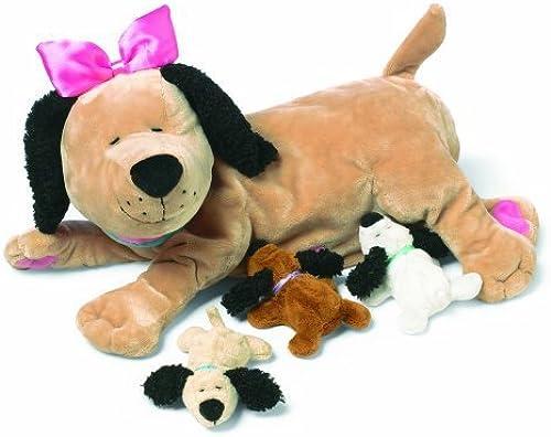 entrega de rayos Manhattan Toy Nursing Nana Dog Dog Dog Nurturing Soft Toy by Nursing Nana Dog  calidad auténtica
