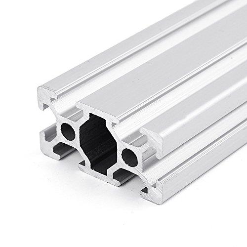 Perfiles de aluminio, SONSAN 1000 mm de longitud 2040 con ranura en T, marco de extrusión de aluminio para CNC