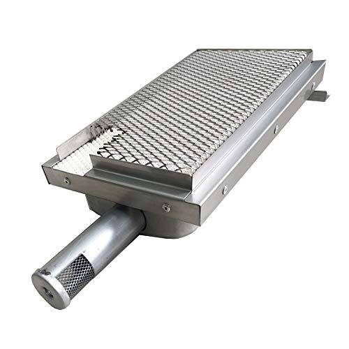 GRILLJOB BBQ Grill Searing Burner Ceramic Infrared Sear Burner Replacement Part Compatible With Kitchenaid Nex 720-0720 Jenn Air - Old, NXG20001486A0 nex1406239