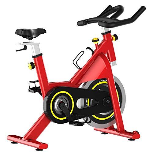 Bicicletas estáticas Bicicleta silenciosa para el hogar Equipo para deportes y fitness en interiores Fitness Bicicleta fija vertical para ejercicios para montar en interiores (deporte de interior)