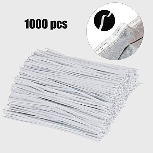Biegbarer Nasensteg-Streifen aus Kunststoff, 10 cm, 1000 Stück