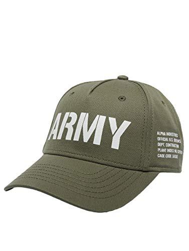 Alpha Industries Army Kappe Militärgrün