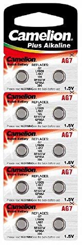 Alkaline Knopfzelle CAMELION AG7/LR57/LR926/395