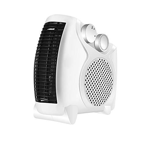 WYW 400W Mini Calefactor Eléctrico Cerámico Baño,silencioso Termostato Ajustable, Portátil Calefactores Aire Caliente Pequeño,con Termostato y Protección contra Sobrecalentamiento