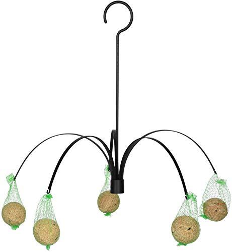 Fallen Fruits Ltd Vogelfutterstation zum Aufhängen, Schwarz