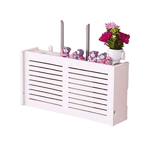 YYQXR WiFi Router Kabel Power Plug Draad Opslag Dozen Wandmontage Drijvende Plank Opslag Rack Grote Window-Shades