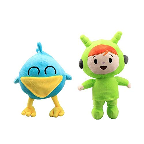 JIAL Bleyoum füllte Spielzeug 2 Teile/Satz Pocoyo plüschtier lich UH u Chongxiang