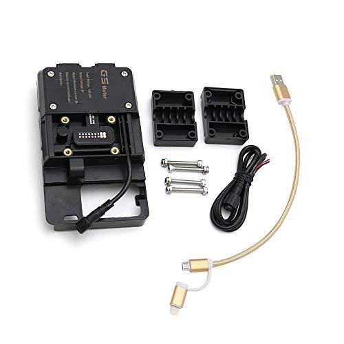 KKmoon Motorrad-Halterung für Mobiltelefone mit USBgeeignet für R1200GS LC&Adventure S1000XR R1200RS