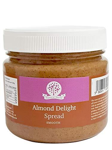 Nutural World - Crema Delizia di Mandorle Liscia (1Kg) Prodotto Premio Vincitore