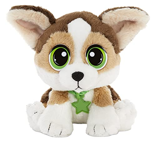 Little Tikes Rescue Tales Babies Corgi Plush Toy with Collar, Tag, Doghouse, Stickers, Activities | Ages 3+
