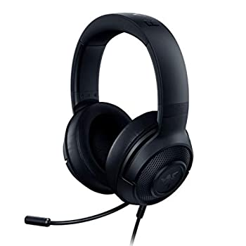 Razer Kraken X Ultralight Gaming Headset  7.1 Surround Sound - Lightweight Aluminum Frame - Bendable Cardioid Microphone - PC PS4 PS5 Switch Xbox One Xbox Series X & S Mobile - Black