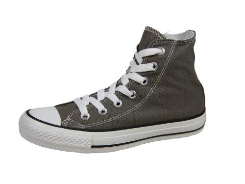 Converse Chuck Taylor All Star, Zapatillas de Tela Unisex, Gris (Grey), 37 EU