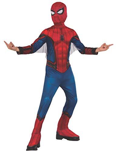 Spiderman - Disfraz, color Rojo y Azul, Tamaño S (Rubies, 700611-S)