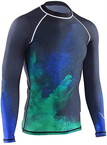 Trajes de Buceo, Manga Corta de Buceo, Camiseta de Traje de Traje de Manga Larga cómoda Transpirable para bucear Surf en la natación (Size : M)