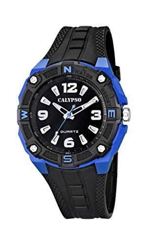 Calypso Reloj Analógico para Hombre de Cuarzo con Correa en Plástico K5634/3