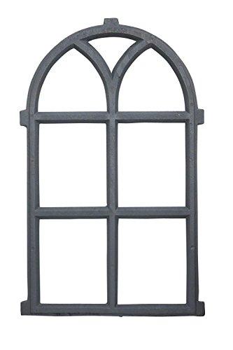 aubaho Stallfenster Fenster Scheunenfenster Eisen grau Eisenfenster 68cm Antik-Stil