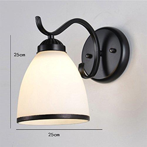 Applique murale Chambre Lampe de chevet Chambre Maison Ti Salon TV Wall Lights (couleur : C)
