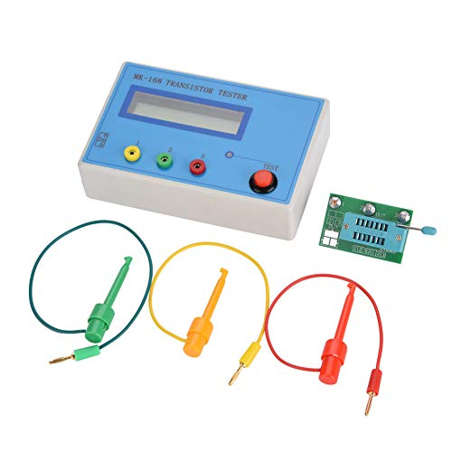 Transistortester, MK-168 Transistortester Diodentriode Kapazitätswiderstand ESR RLC L-CR NPN PNP MOS-Messgerät