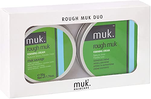 Rough Muk Duo Pack - Melon - 95g Tin + 50g Tin by Muk Hair Care Pty L