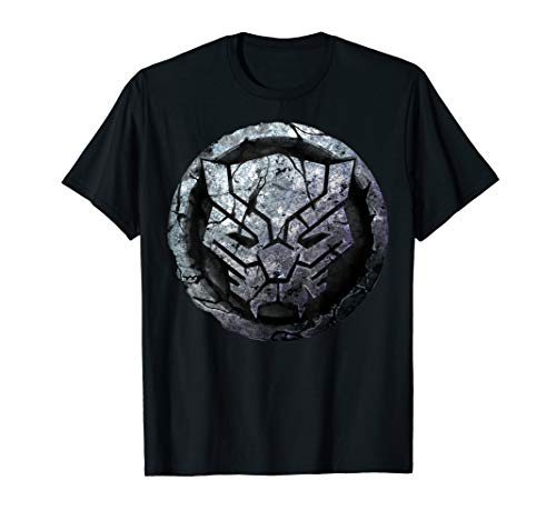 Marvel Black Panther Stone Symbol Graphic T-Shirt