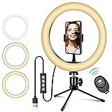 Ring light, Doosl Luce Led Cerchio con Telecomando Bluetooth per...