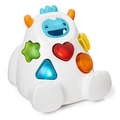 Skip Hop 305411 Yeti Shape Sorter Explore & More 3-Stage Spinning & Sorting Developmental Learning Toddler Toy