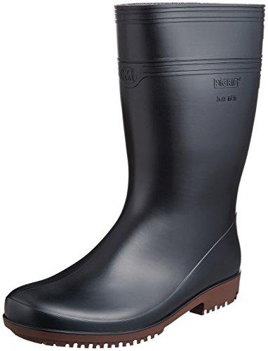 [ミドリ安全] 作業長靴 耐滑 耐油 耐薬 ハイグリップ NHG2000 スーパー メンズ ブラック 30.0(30cm)