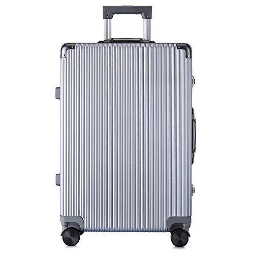 Ys-s Personalización de la tienda Color de la maleta llena de gama alta, el equipaje compra del grupo, la caja boca trolley de aluminio, caja de aleación de aluminio, ruedas universales, aviones hombr