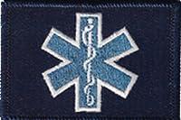 EMT Star of Life タクティカルパッチ ブルー p-AG-Y0PW-7ZYY