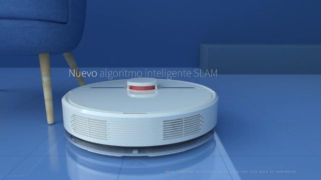 Robot Aspirador Dreame D9 Mistral navegaci/ón 3.0 por Radar l/áser LSD y Sistema de escaneo en Tiempo r/écord con tecnolog/ía Slam Inteligente Modelo Europeo