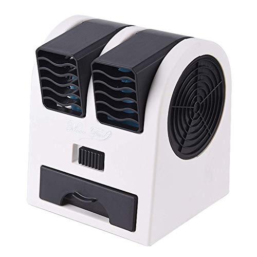 Climatizzatore Portatile Refrigeratori evaporativi Mini Aria condizionata Ventilatore Air Cooler Home Air Cooler Ufficio Condizionatore d'aria di raffreddamento ad acqua (Colore: Blu) (Colore: Purple)