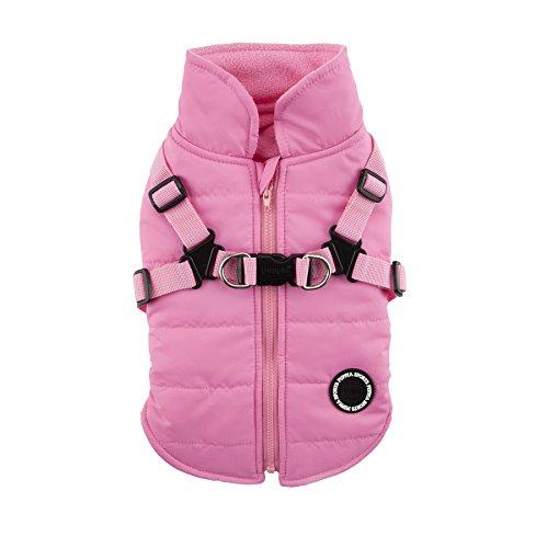 Puppia Mountaineer II Winter Vest, Large, Pink