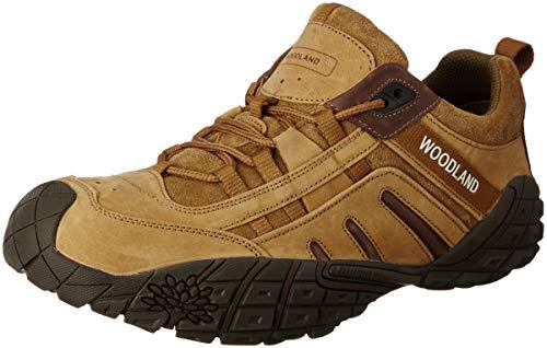 Woodland Men's Camel Leather Sneakers-11 UK/India (45 EU) (GC 2318116CMA)