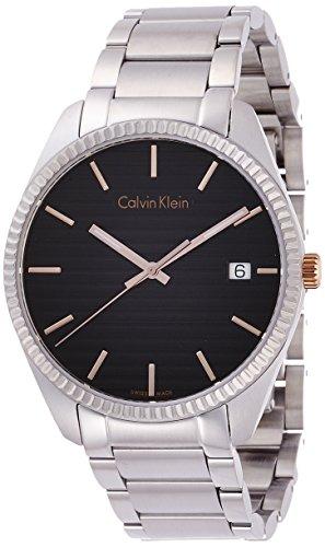 Calvin Klein K5R31B41 - Orologio da polso da uomo, analogico, al quarzo, in acciaio INOX
