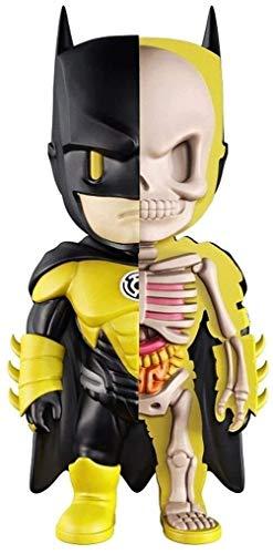 YUEDAI Kunstwerk Abbildung!Laterne Batman Dissected Companion Modell Action-Figur Figurine/Hauptdekoration Schlafzimmer Kunst berühmte Cartoon-Charakter Original-Companion Modell von DC Helden C