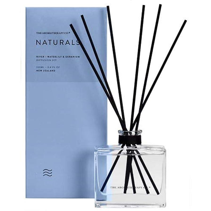 既婚苦しめる通行料金アロマセラピーカンパニー(Aromatherapy Company) new NATURALS ナチュラルズ Diffusion Stick ディフュージョンスティック River リバー(川) Waterlily & Geranium ウォーターリリー&ゼラニウム