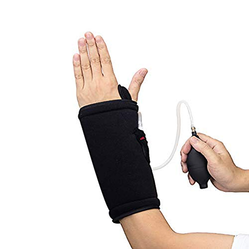 Wrist Ice Pack, Hand Support Brace with Reusable Gel Pack, Hot & Cold Therapy for Pain Relief from Carpal Tunnel, Tendonitis, Injuries, Swelling
