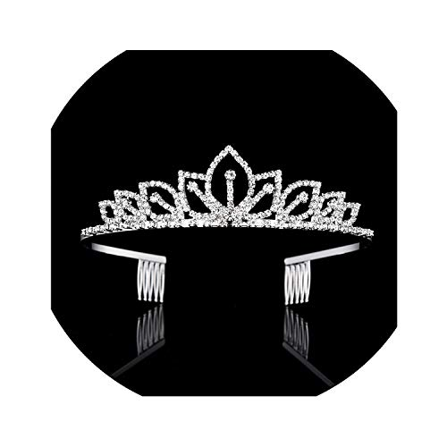 Wedding Crown Queen Bridal Tiaras Crowns Kids Headbands Wedding Accessories Hair Jewelry Ornaments Hair Jewelry,Yy012