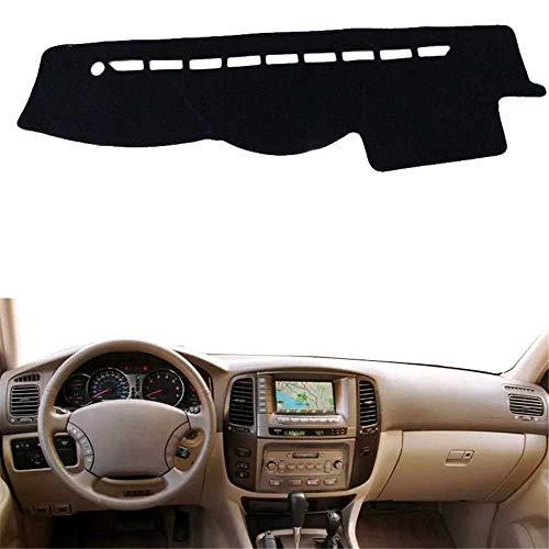 SAXTZDS Alfombrilla para salpicadero de Coche, Alfombrilla Anti-UV, Apta para Toyota Land Cruiser LC100 2002 2003 2004 2005 2006 2007