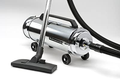 Metropolitan Professionals 4-Horsepower Canister Vacuum with Quadruple Hepa Filtration