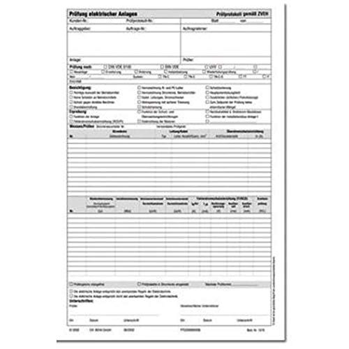 Beha-Amprobe 3313435 1279D Prüfprotokoll DIN VDE 0701-0702 1St.