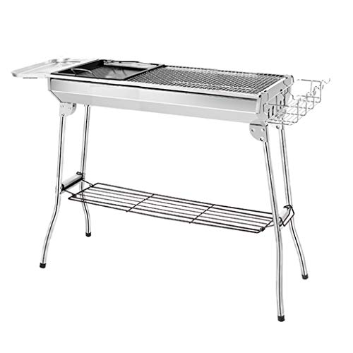 Fantastic Prices! Barbecue Stainless Steel Oven Charcoal Tools Garden for More Than 5 People Collaps...