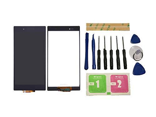 Flügel für Sony Xperia Z Ultra / XL39 Display LCD Ersatzdisplay Schwarz Touchscreen Digitizer Bildschirm Glas Assembly (ohne Rahmen) Ersatzteile & Werkzeuge & Kleber