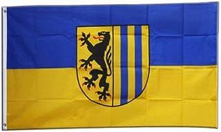 Flaggenfritze Fahne/Flagge Deutschland Stadt Leipzig + grati