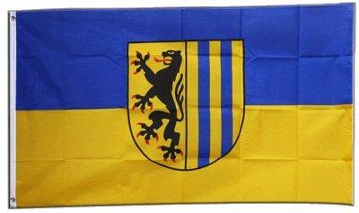 Flagge Deutschland Stadt Leipzig - 90 x 150 cm