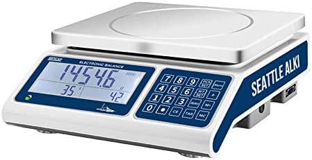 Seattle Alki Scientific Industrial Counting Scale Digital Balance with 30kg Capacity 0 5g Accuracy product image