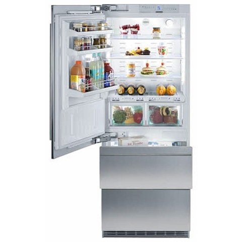 "Liebherr Fully Integrated Bottom Freezer Refrigerator Panel Ready, 30"", Left Hinge"