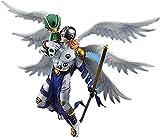 Guoyulin Digimon Figura Angelon & AngeWomfigure Action Anime Toy Statue Doll Ornamentos Colección Ju...