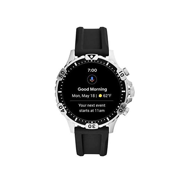 Fossil Connected Smartwatch Gen 5 para Hombre con pantalla táctil , altavoz, frecuencia cardíaca, GPS, NFC y… 2