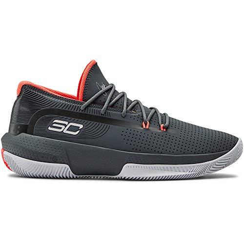 Under Armour Herren 3022048-102_47,5 Basketball Shoes, Grey, 47.5 EU